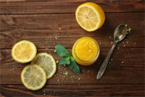 Zitronenpeeling selber machen